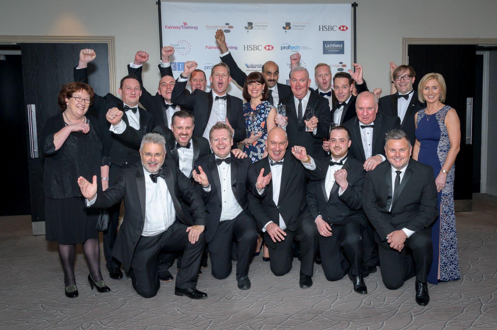 Lichfield & Tamworth Chamber President's Award 2018 - Wagstaff